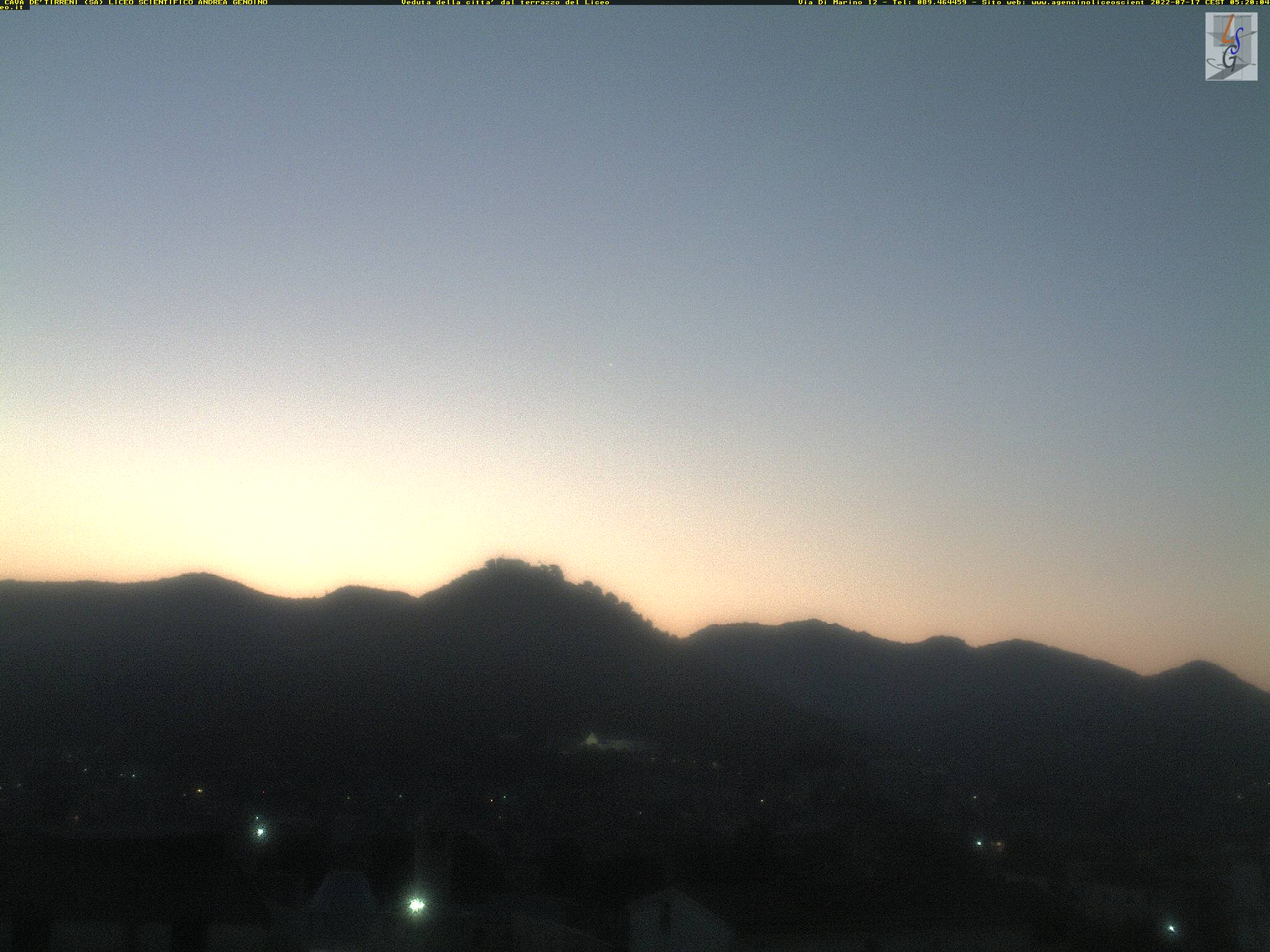 Webcam Cava dei Tirreni - Campania Meteo