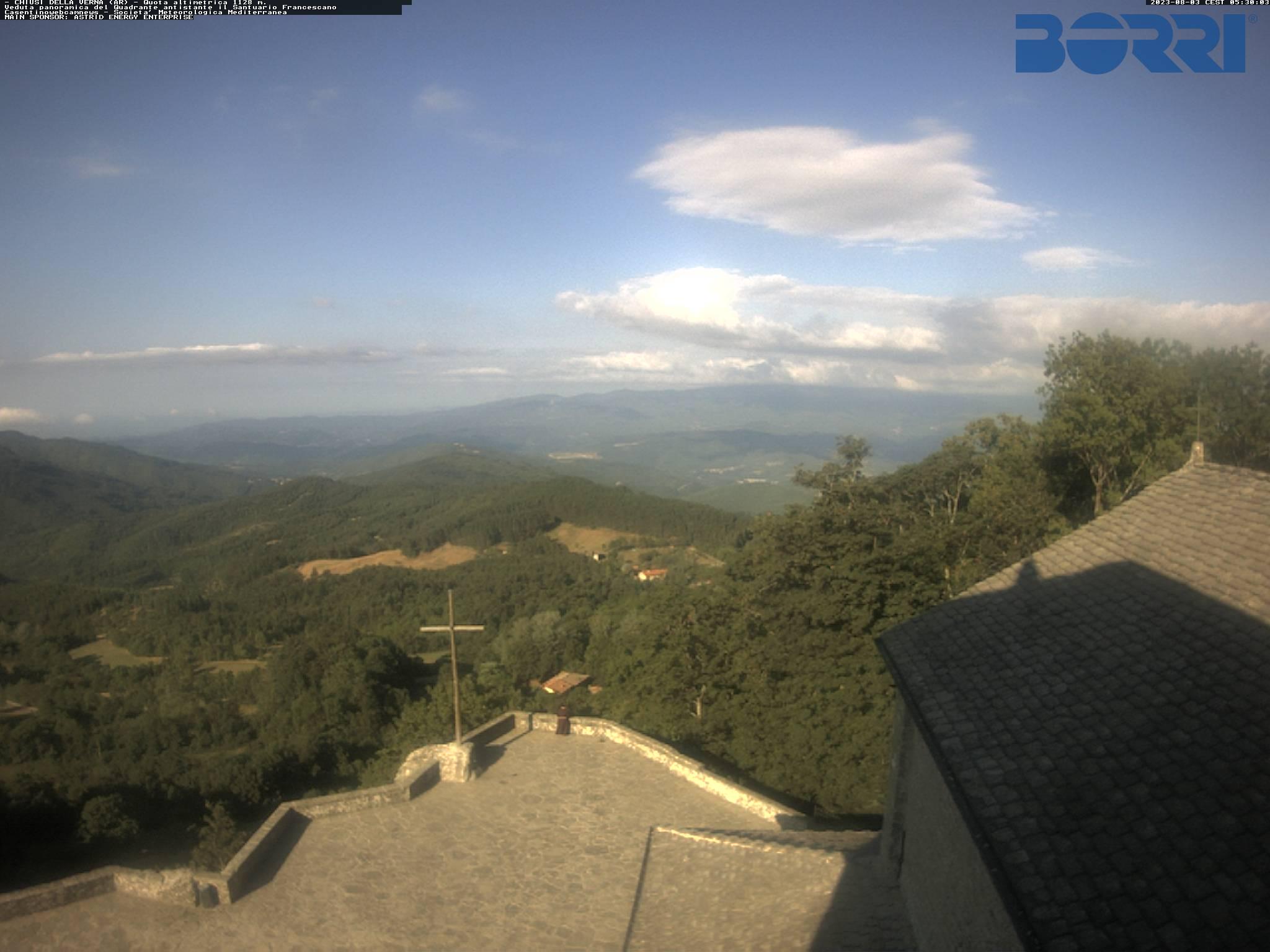 Webcam Chiusi della Verna Santuario