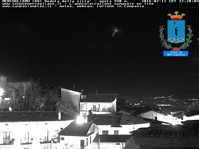 Webcam in diretta da Mercogliano
