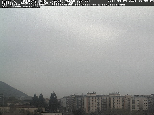 Webcam in diretta da Salerno