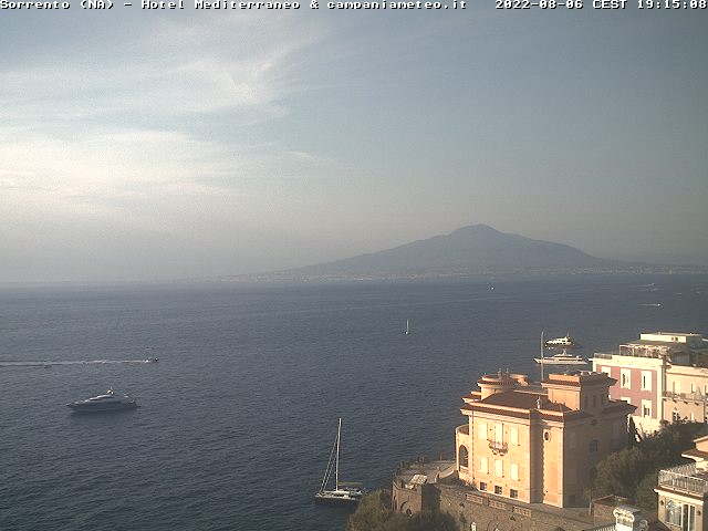 Webcam Sorrento, Sant Agnello, Napoli